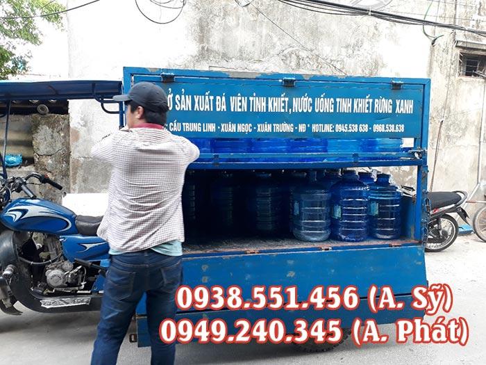 Xe ba gác chở bình nước lọc của MTP có rất nhiều ưu điểm vượt trội