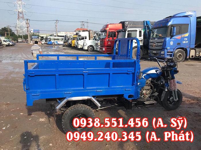 Xe chở hàng chuyên dùng để chở các mặt hàng thiết yếu, xe ba bánh chở bia, nước ngọt sở hữu thiết kế hiện đại và gọn nhẹ