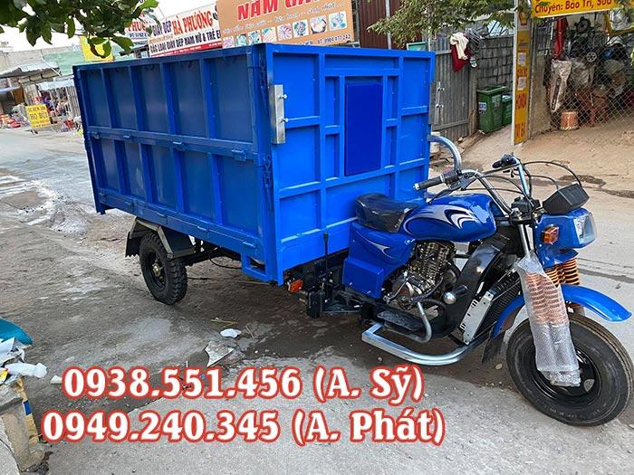 Xe ba gác chở rác thải, rác sinh hoạt giá rẻ, chính hãng tại MTP