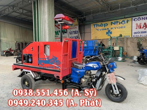 Xe ba bánh cứu hỏa, chữa cháy