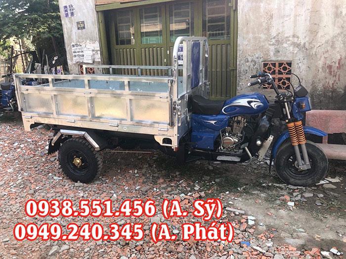 Mua xe 3 bánh thùng inox giá rẻ tại Mạnh Tiến Phát