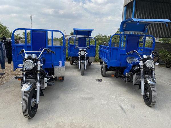 Mua xe ba bánh đầy đủ giấy tờ tại xưởng xe ba bánh MTP