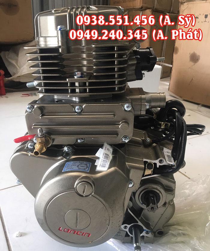 Cục máy xe ba gác Loncin Trung Quốc
