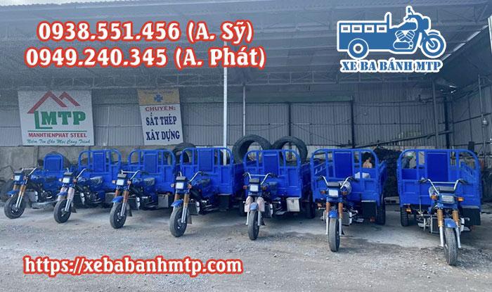 Mua xe lôi 3 bánh chở hàng, chất lượng, giá rẻ, máy khỏe tại xưởng xe ba bánh MTP