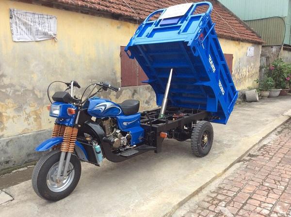 Xe ba gác Nam Định có nhiều dung tích xy lanh phù hợp với nhu cầu đa dạng