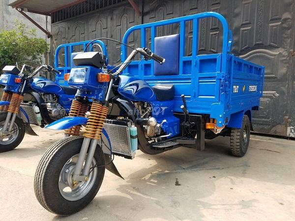 Xe ba bánh là một loại phương tiện rất thông dụng và quen thuộc
